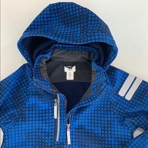 H&M parka jacket rain coat size 8-9 like NEW